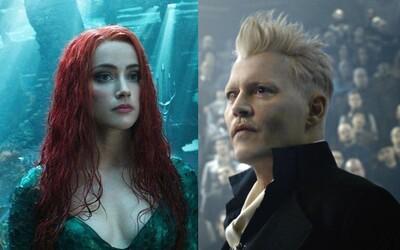 Johnny Depp měl soudu odevzdat téměř 90 nahrávek, na kterých ho exmanželka Amber Heard fyzicky napadla
