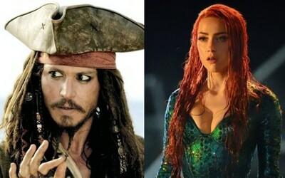 Johnny Depp obviňuje ze ztráty role Jacka Sparrowa exmanželku Amber Heard. Žaluje ji o 50 milionů dolarů