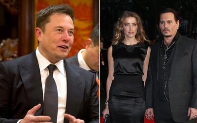 Johnny Depp tvrdí, že ho bývalá manželka Amber Heard podváděla s Elonem Muskem