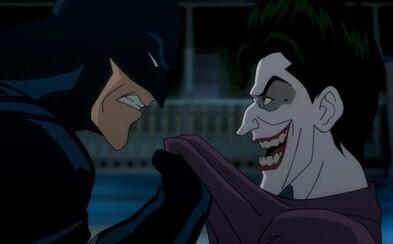 Joker čelí Batmanovi na prvej fotke z animáku Killing Joke podľa úžasnej komiksovej predlohy