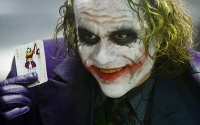 Joker v podaní Heatha Ledgera sa stal najlepším záporákom všetkých čias. Filmoví fanúšikovia ho posunuli aj pred Darth Vadera