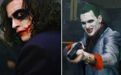 Joker z Temného rytiera a Joker zo Suicide Squad zvedú v akciou nadupanom krátkom filme smrteľný súboj. Ktorý zo psychopatov sa bude smiať naposledy?