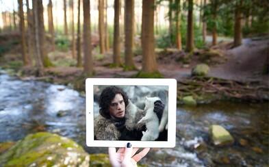 Jon Snow aj Daenerys. Scény z Game of Thrones fanúšikovia dosadzujú do miest, kde sa skutočne nakrúcali