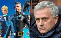 José Mourinho označil Fortnite za noční můru. Fotbalisté jsou vzhůru celou noc, i když mají druhý den zápas, prohlásil trenér