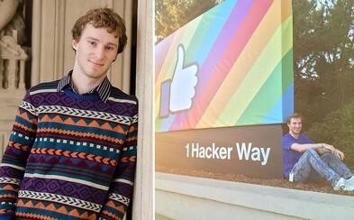 Jozef má len 21 rokov a už stážoval v centrále Facebooku aj v Googli.  Aká bola jeho cesta za úspechom? (Rozhovor)