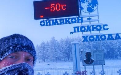 Jozef v -50 stupňoch stopoval do najchladnejšej dediny sveta. Stálo ho to menej ako dve slovenské výplaty, ale čelil ceste mŕtvol
