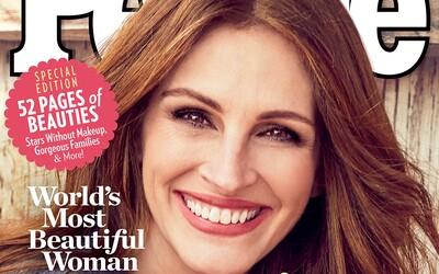Julia Roberts je nejkrásnější ženou světa za rok 2017. Podle magazínu People si titul zasloužila už popáté