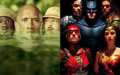 Jumanji už celosvetovo zarobilo viac ako Justice League. Sony získalo potrebný hit a my sa už môžeme pripraviť na pokračovania