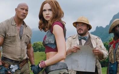 Jumanji: Welcome to the Jungle s The Rockom a Jackom Blackom sa predstavuje v akčnom traileri