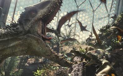 Jurský svet vyzerá v nových videách čoraz lepšie, otvorí sa IMAX práve ním?