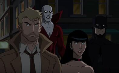 Justice League Dark s Batmanom a Constantinom potvrdzuje Rkový rating a posiela démonický trailer