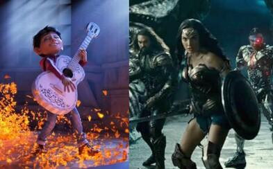 Justice League sa na čele tržieb neudržalo ani týždeň. Predbehla ho pixarovka Coco, Thor smeruje k 800 miliónom (Box Office)