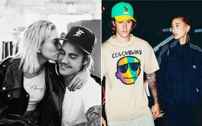 Justin Bieber a Hailey Baldwin jsou oficiálně manželé