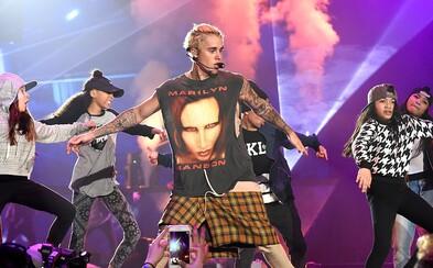 Justin Bieber je obyčejný kus hovna. Marilyn Manson prozradil detaily nepříliš vydařeného setkání se slavným zpěvákem