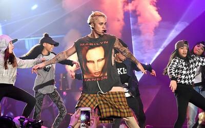"""""""Justin Bieber je obyčajným kusom hovna."""" Marilyn Manson čo-to prezradil o nie príliš vydarenom stretnutí so slávnym spevákom"""