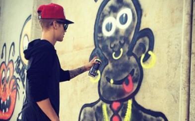 Justin Bieber sa takmer dostal do väzenia kvôli graffiti
