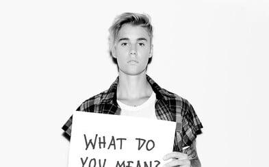 Justin Bieber se vrací k hudbě novou skladbou What Do You Mean? s produkcí od Skrillexe