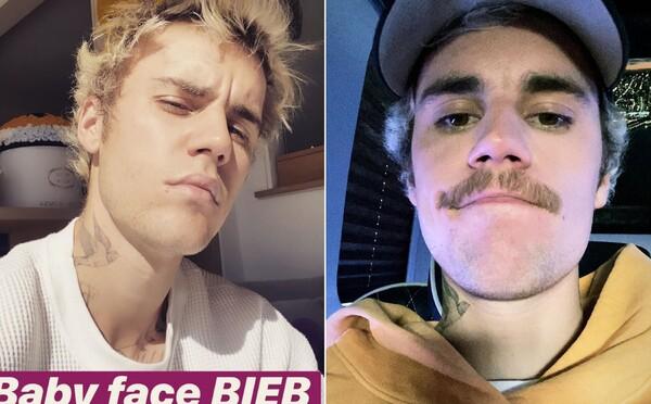 Justin Bieber si konečne oholil riedke fúzy. Potešil fanúšikov, manželku Hailey aj vlastnú matku