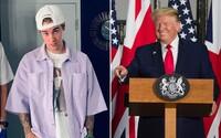 Justin Bieber vyčítá Trumpovi novodobé koncentrační tábory pro uprchlíky, ale děkuje za iniciativu při boji o propuštění Rockyho