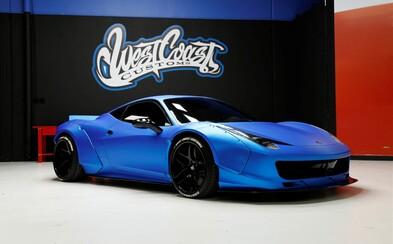 Justin Bieber vydražil své vyšperkované Ferrari a opravdu slušně si tak přivydělal