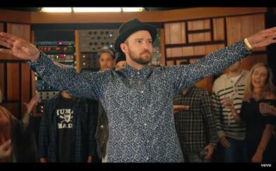 Justin Timberlake sa pripomína funky novinkou Can't Stop The Feeling, ktorá má opäť potenciál veľkého hitu
