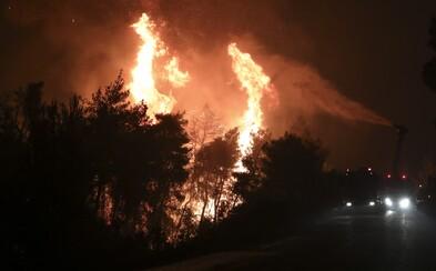 K Los Angeles se blíží požár, musí evakuovat 100 000 lidí