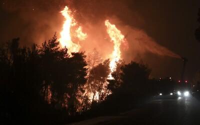 K Los Angeles sa blíži požiar, musia evakuovať 100 000 ľudí