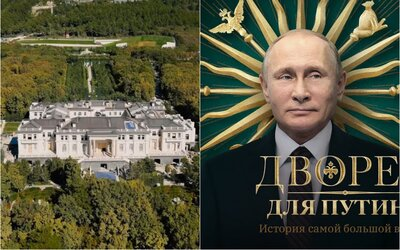 "K vlastníctvu ""Putinovho zlatého sídla"" za miliardu sa prihlásil oligarcha a kamarát ruského prezidenta"