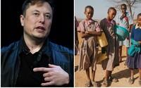 K zažehnání světového hladomoru by stačily 2 % majetku Elona Muska