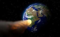 Okolo Země proletěl v noci asteroid rychlostí 34 000 kilometrů za hodinu
