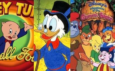 Káčerovo, Gumkáči alebo Rozprávková jazda. Ktorý animovaný seriál víkendového rána bol súčasťou vášho detstva?