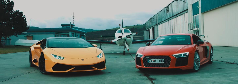 Kali, Mišo Biely a Šorty majú v klipe drahé autá, súkromné lietadlo aj sexi tanečnice