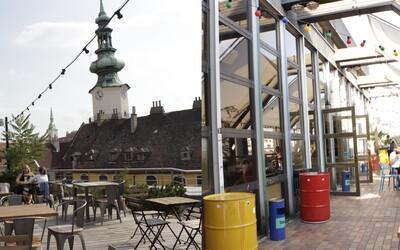 Kam cez leto na drink? Kontajner či terasu na streche Bratislavy musíš vyskúšať