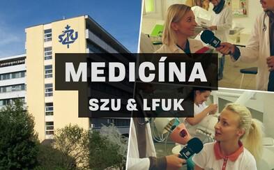Kam na výšku #2: Na týchto školách sa rodia budúci doktori. Nahliadni do útrob SZU a LFUK