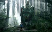 Kamarátstvo dieťaťa s fantastickým drakom ožíva v traileri na Disneyovku Pete's Dragon