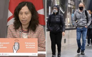 Kanadská expertka: Rúšok a obmedzení sa nezbavíme ani s vakcínou, potrvajú dva až tri roky