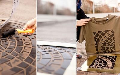 Kanalizační poklopy ti mohou posloužit i na výrobu originálních triček. Ve světových městech číhá příležitost tvořit umění všude