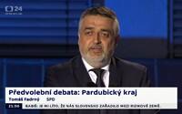 Kandidát za SPD se ztrapnil v předvolební debatě. Zamotal se do tématu inkluze, proti které jeho strana bojuje