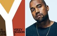 Kanye odhaľuje detaily Season 3 a zároveň aj nový model topánok YZY 1050