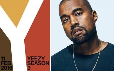 Kanye odhaluje detaily Season 3 a zároveň i nový model bot YZY 1050