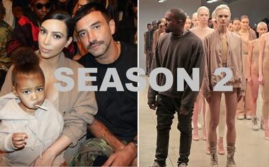 Kanye představil na newyorském Fashion Week kolekci Yeezy Season 2, se kterou nás čeká několik zásadních změn