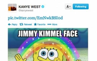Kanye sa hnevá na Jimmyho Kimmela, lebo si z neho robil srandu