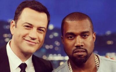 Kanye sa po hádke stretol s Kimmelom v jeho talkshow