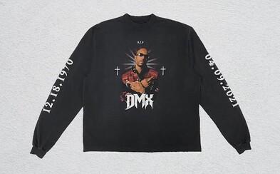 Kanye West a Balenciaga uctili památku DMXe limitovaným tričkem, které může být tvoje za zhruba 5 200 korun