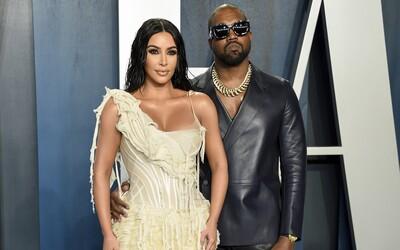 Kanye West a Kim Kardashian spolu po rozvodu nekomunikují, raper si změnil čísla
