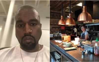 Kanye West chce otevřít vlastní restauraci. Měla by nabízet špičkové recepty podle jeho matky