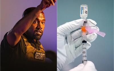 Kanye West na predstavení albumu Donda ponúkal vakcíny 40-tisíc ľuďom, zaočkovať sa dali len štyria