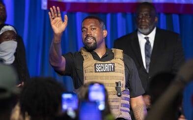 Kanye West nakonec kandiduje? Svolal předvolební mítink, rozplakal se tam a slíbil legalizaci marihuany