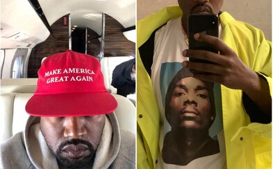 Kanye West posílá lásku Snoop Doggovi i Trumpovi