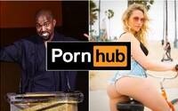 Kanye West přijal nabídku Pornhubu a do prodeje posílá kolekci oblečení s oceněnými pornoherečkami